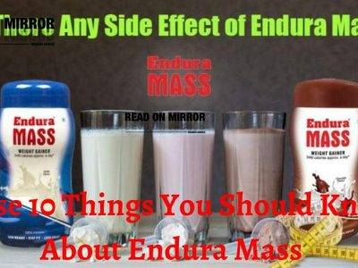 Side effects And Benefits Of Endura mass