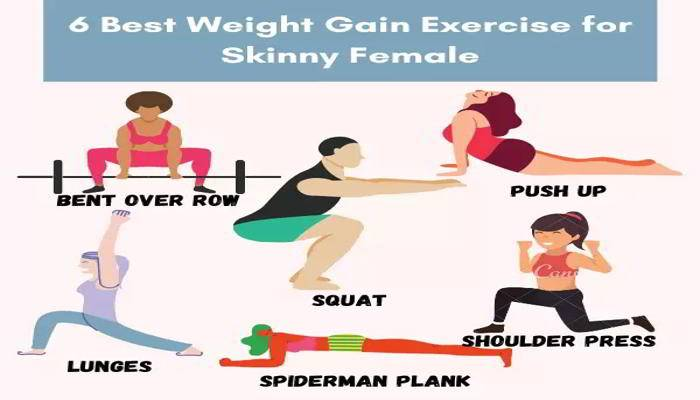 वजन बढ़ाने के लिए एक्सरसाइज - Exercise For Weight Gain In Hindi