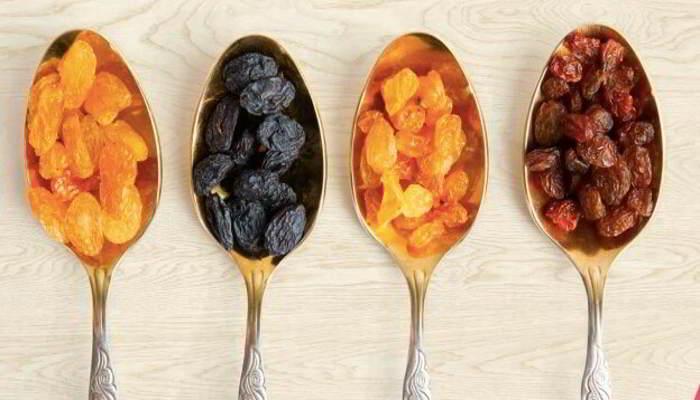 किशमिश के प्रकार -Types of Raisins in Hindi